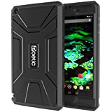 Nvidia Shield Tablet Case - Poetic NVIDIA SHIELD Tablet Case [REVOLUTION Series] - Rugged Hybrid Case with Built-in Screen Protector for Nvidia Shield Tablet (8-inch 2014 Model) Black (3-Year Manufacturer Warranty from Poetic)