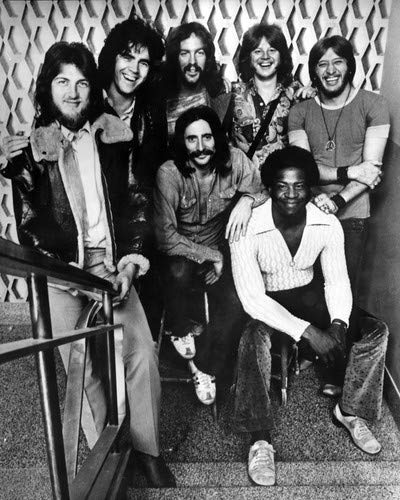Three Dog Night Danny Hutton Cory Wells Chuck Negron and band 1970's 8x10 Promotional Photograph