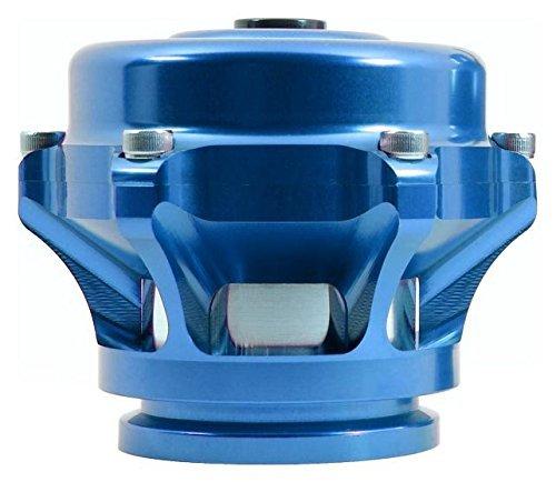 AL Flange unpainted TiAL Q Blow Off Valve Blue Body 10 psi spring