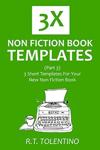 3x non fiction book templates part 3 3 short templates for your