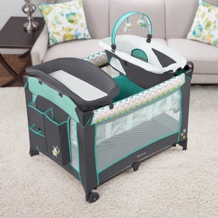 Ingenuity Smart and Simple Playard - Ridgedale /Model:10211/Travel bag is included by Generic
