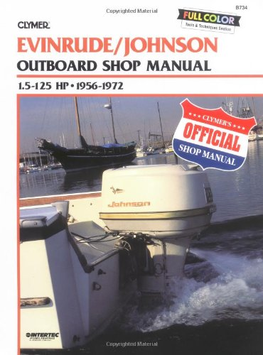 Evinrude Johnson Outboard Shop Manual 1.5 to 125 Hp 1956-1972 - Johnson Outboard Motor Service Manual