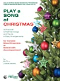 img - for Play A Song Of Christmas - 35 Favorite Christmas Songs and Carols In Easy Arrangements (Cello and String Bass Book) book / textbook / text book