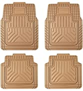 August Auto All Weather Universal Fit Heavy Duty Rubber Floor Mats for Car,SUV ,Truck ,Universal ...