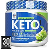 Exogen Ketones Supplement with Beta Hydroxybutyrate BHB Salts for The Ketogenic Diet – Keto Powder Drink to Help Reach Ketosis, Burn Fat, Reduce Stress, and Boost Energy (Sour Apple, 30 Servings)