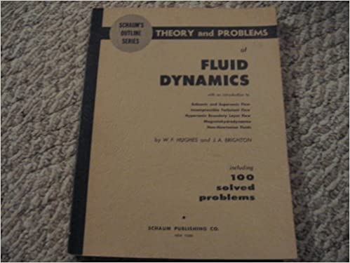 SCHAUM'S OUTLINE OF THEORY AND PROBLEMS OF FLUID DYNAMICS : William