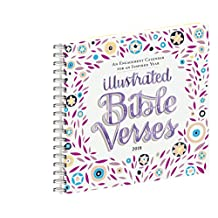 Illustrated Bible Verses Engagement Calendar 2018