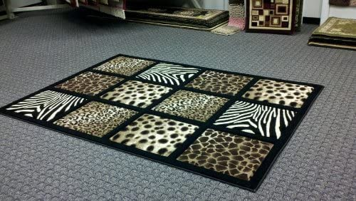 Sculpture Modern Animal Skin Print Leopard