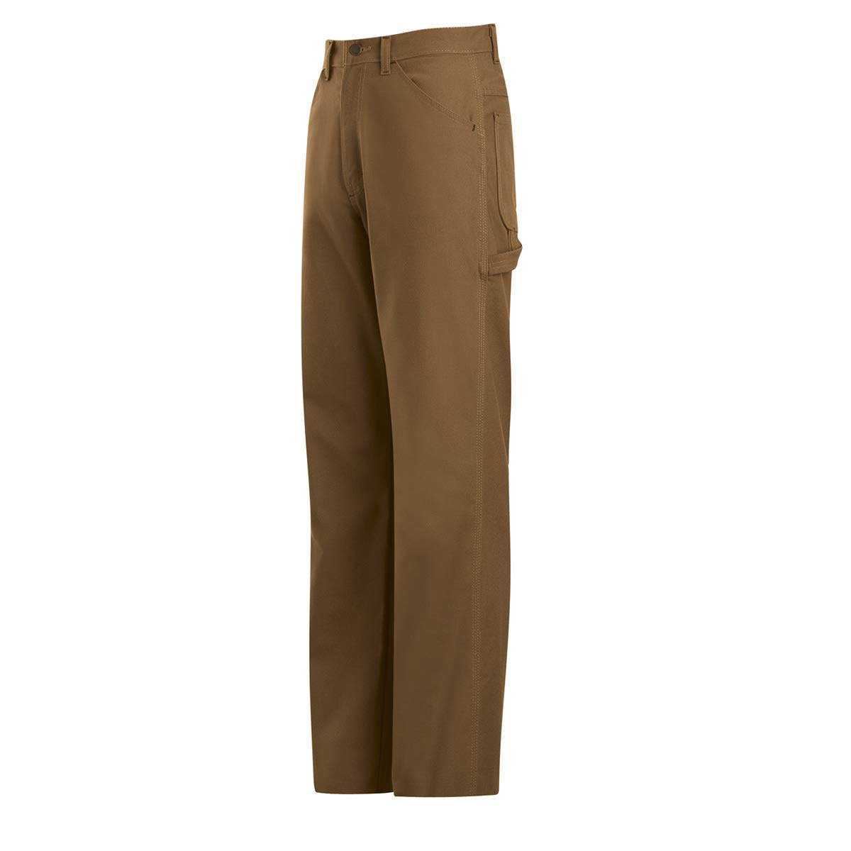 Bulwark 32 X 30 Brown Cotton Excel FR ComforTouch Nylon Flame Resistant Jeans With Zipper Closure