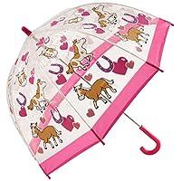 Bugzz Clear Dome Birdcage Kids Pony Umbrella