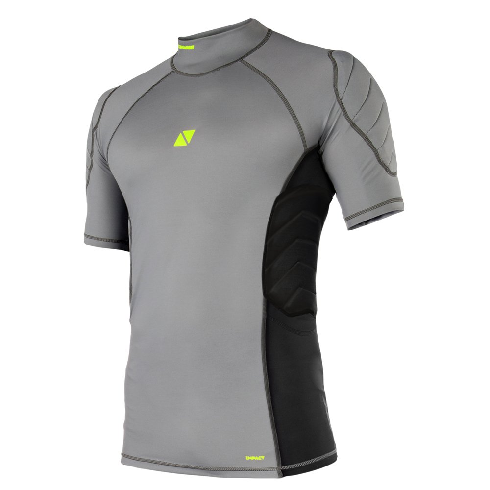 MAGIC MARINE(マジックマリン) Impact Shirt S/S 半袖ラッシュガード プロテクター付き [15001.180035] メンズ マリンスポーツウェア ラッシュガード XX-Small  B078ZJ7PYM