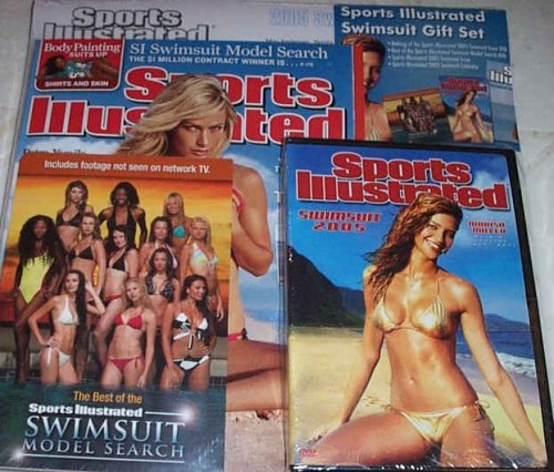 Sports Illustrated Swimsuit Gift Set 2005 Including Dvd, Model Search Dvd, Magazine and Calendar