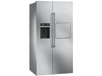 Smeg Kühlschrank 140 Cm : Smeg sbs pedh side by side kühl gefrier kombination edelstahl