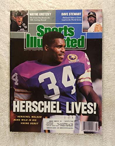 Herschel Walker Runs Wild In His Minnesota Viking Debut - Sports Illustrated - October 23, 1989 - SI