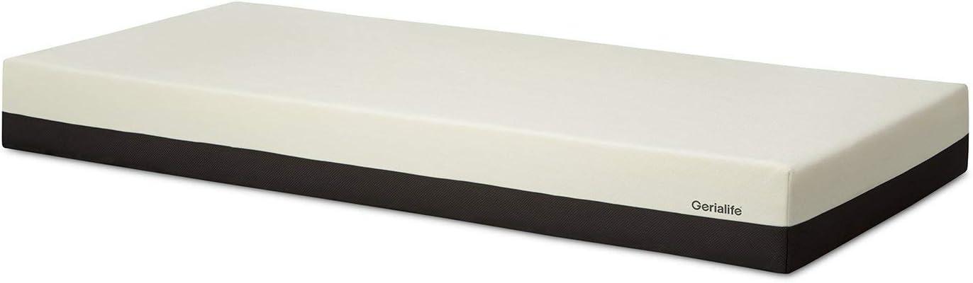 Gerialife Colchón Ortopédico Viscoelástico Desenfundable para Camas Articuladas, Altura 20 cm. (90x190)