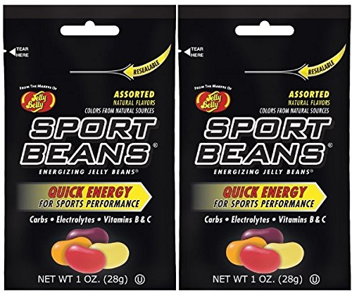 Jelly Belly Sport Beans Assorted Flavors 1oz - 48 Packs by Jelly Belly