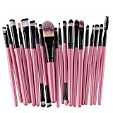 Makeup Brushes 20 Pieces Makeup Brush Set Premium Face Eyeliner Blush Contour Foundation Cosmetic Brushes for Powder