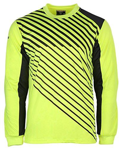 Vizari Arroyo Goalkeeper Jersey | Goalie Jersey | Soccer Clothes | Soccer Shirts | Jersey Soccer | Yellow/Black Youth M