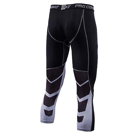LDDOTR Leggings para Hombre Pantalones, Mallas Deportivas Leggings ...
