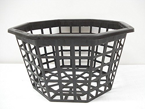 Orchid Basket, 10 Inch Octagon, Plastic Quantity of 5