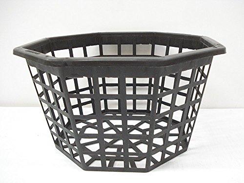 Orchid Basket, 10 Inch Octagon, Plastic Quantity of 7 (Market Market Octagon)