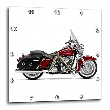 3dRose DPP_ 4487_3 Harley-Davidson Motorcycle Picture Wall Clock