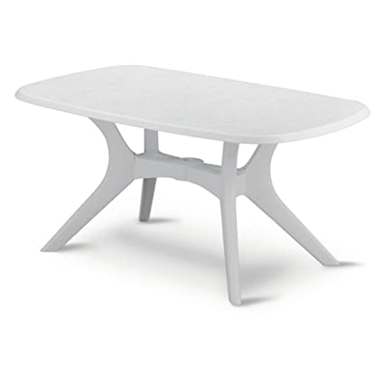 0e01c3330afd Amazon.com   Kettler Kettalux Resin Table - 63 X 38 Inch   Dining Tables    Garden   Outdoor