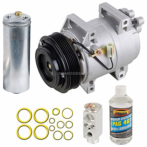 AC Compressor w/A/C Repair Kit For Volvo S60 & S80 - BuyAutoParts 60-80414RK New ()