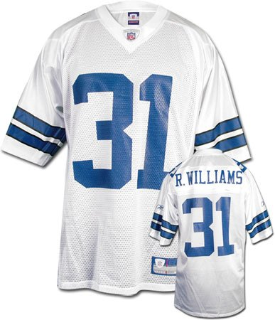 Williams White Nfl Jersey - 3