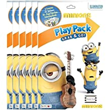 Minions Play Pack Grab and Go - Pack of 6 (Six)
