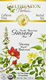 Celebration Herbals Ginseng Tea North Am