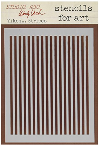 stampers-anonymous-wendy-vecchi-studio-stencil-collection-65-inch-by-45-inch-yikes-stripes