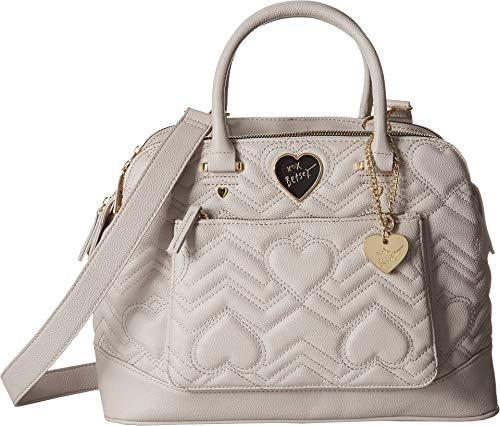 - Betsey Johnson Women's Satchel Grey One Size