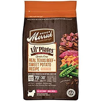 Amazon.com: Merrick Grain Free Dry Dog Food Recipes, Texas ...