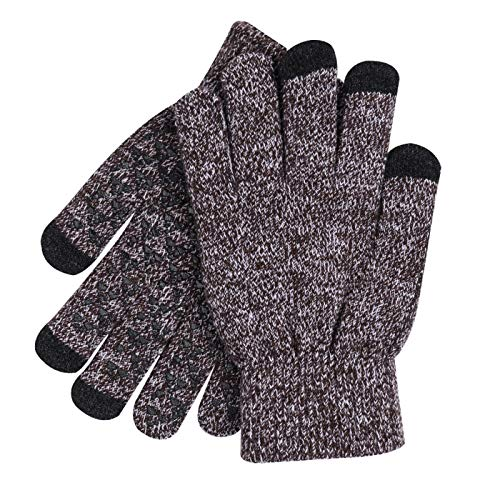 donna ciclismo più per Guanti velluto pantaloni point uomo touch screen outdoor con invernali viola 66Hq14R