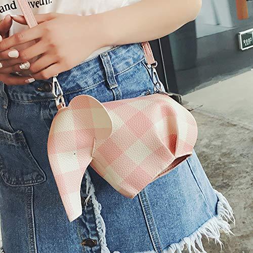 Transparente Carta Contraste pequeña Costura Mujer de Color Bolso Paquete Bolsa de Lentejuela gelatina Tendencia Cuadrada impresión láser Bolsa Retro de ZqYOBRwxt