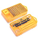 Cylewet Screwdriver Tool Set 108 in 1 Multifunctional precision Screwdriver Set for iPhone,Other Cell Phone, PC, Tablet ,Laptop Smartphone Repair Tool Kit CYT1075