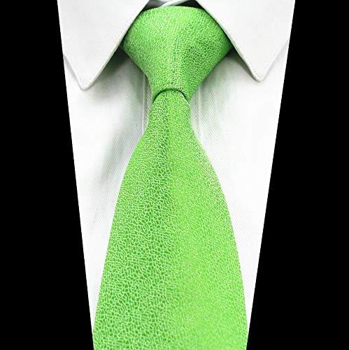 Txrh Corbatas Color sólido Lazo Rojo Oro Verde Gris Corbata for ...