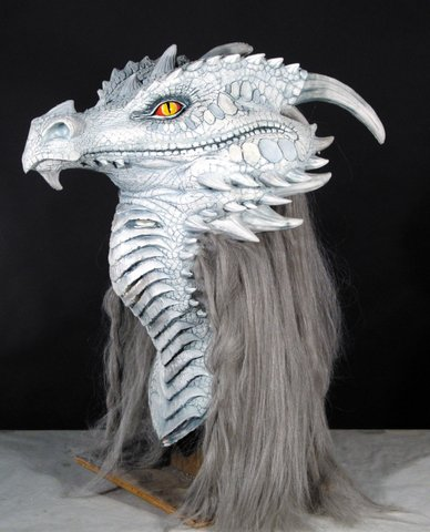 Ancient Dragon Premiere Monster Latex Adult Halloween Costume Mask