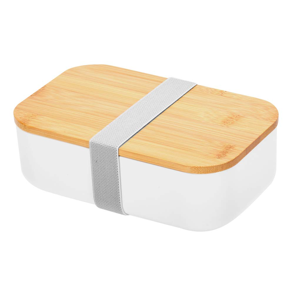 Specially design quality bamboo cover, lunch box,environmental protection, Built-in Sealing Strap