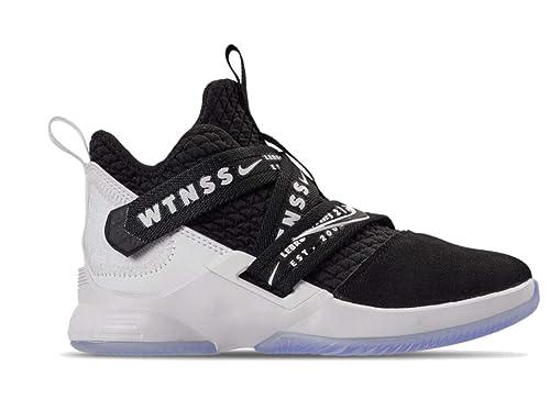 b8e3213fabeab Nike Lebron Soldier XII (ps) Little Kids Aa1353-005 Black/Black ...