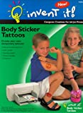 Invent It! Body Sticker Tattoos