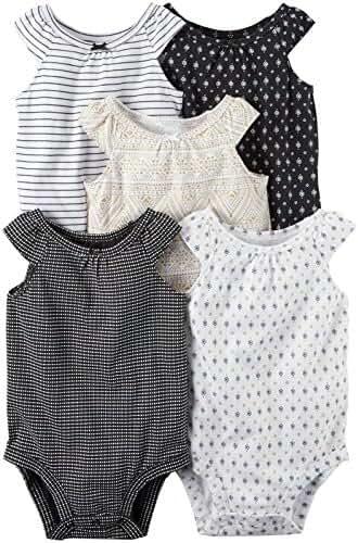 Carter's Baby Girls Multi-Pk Bodysuits
