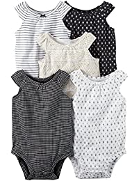 Baby Girls Multi-Pk Bodysuits