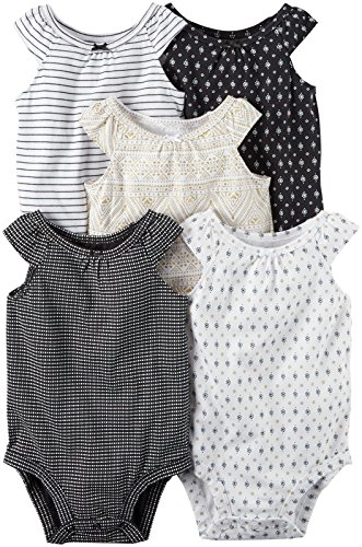 Carters Girls Multi PK Bodysuits 126g548