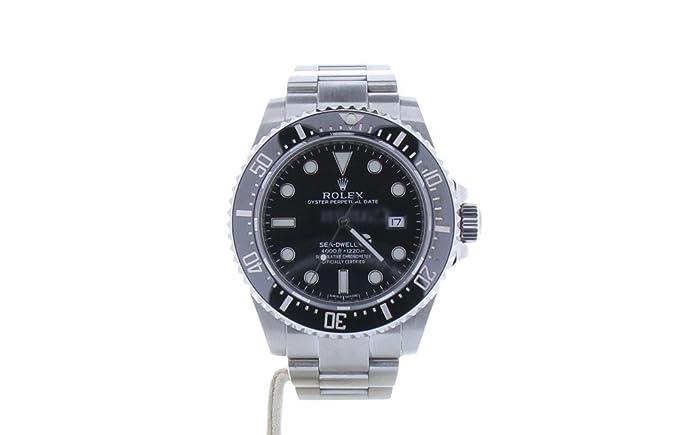 Rolex sea-dweller automatic-self-wind 116600 - Reloj para hombre (Certificado) de segunda mano: Rolex: Amazon.es: Relojes