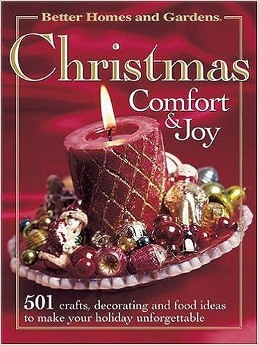 Christmas Comfort & Joy (Better Homes & Gardens): Better Homes and ...