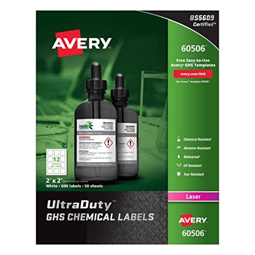 Avery UltraDuty Waterproof Resistant 60506