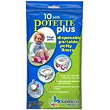 Kalencom Potette Plus On the Go Potty 10 Pack Liner...