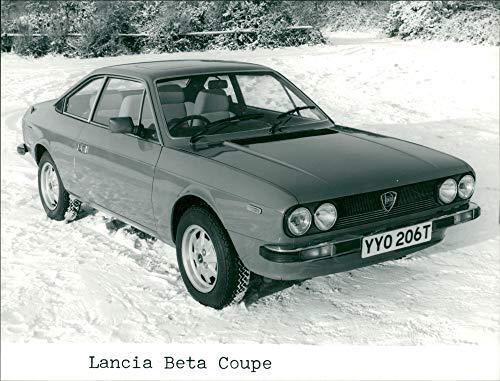 Lancia Beta Coupe - Vintage photo of Revised Lancia Beta Coupe